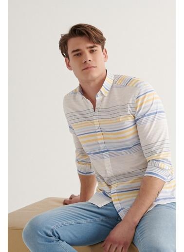 Avva Gömlek Renkli
